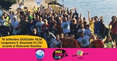 World Cleanup Day 2020 Lungomare Taranto