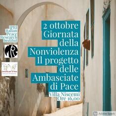Palermo: per una rete delle Ambasciate di Pace