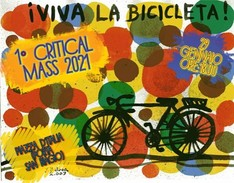 1° Critical Mass 2021 - in bici a Lecce