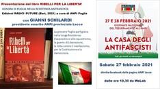 RIBELLI PER LA LIBERTA' giovani di  Puglia nella Reistenza antifascista