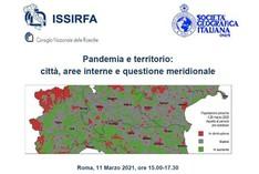Pandemia e territorio: città, aree interne e questione meridionale