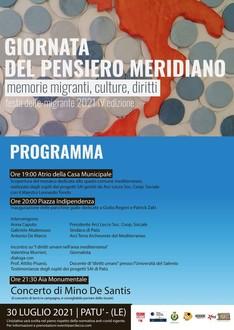 Giornata del Pensiero Meridiano - IV Festa dell' Emigrante