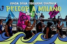 Extinction Rebellion Italia - PreCOP a Milano