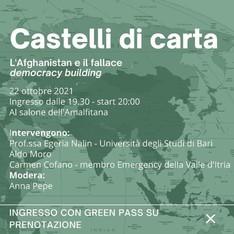 Castelli di Carta - L'Afghanistan e il fallace democracy building