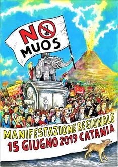 Manifestazione Regionale NO MUOS - Catania