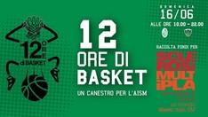 Un canestro per l'AISM - 12h di basket 2019