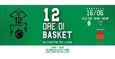 Un MINIcanestro per l'AISM - 12h di Basket 2019
