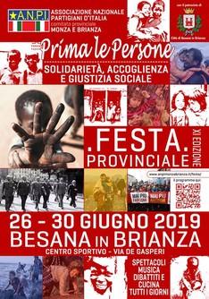 XI Festa ANPI Provinciale Monza e Brianza