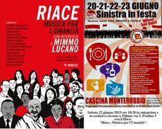 """""""Riace, Musica per l'Umanità"""", con intervista a Mimmo Lucano, anteprima del Libro a Milano"""