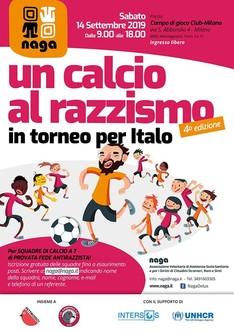 Un Calcio Al Razzismo - In Torneo per Italo - 2019