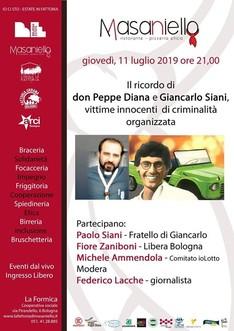 In ricordo di Don Peppe Diana e Giancarlo Siani