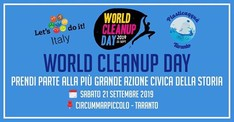 World Clean Up Day 2019 Circummarpiccolo Taranto