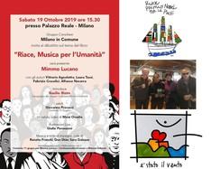 "Mimmo Lucano presenta ""Riace, Musica per l'Umanità"" a Milano"