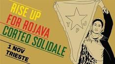 RiseUpForRojava - corteo solidale