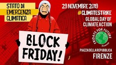 BLOCK Friday Firenze - Fridays For Future #ClimateStrike globale