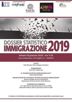 Presentazione Dossier Statistico 2019