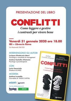 """Presentazione Libro """"Conflitti"""" a Roma"""