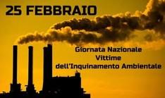 Giornata Nazionale Vittime dell'Inquinamento Ambientale