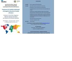Mobilità individuale: il progetto educativo di studio all'estero