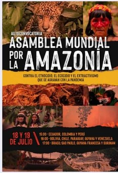 Prima Assemblea mondiale dell'Amazzonia on line dal 18 al 19 luglio