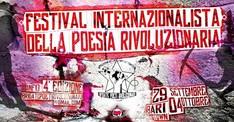 Festival Internazionalista Della Poesia Rivoluzionaria