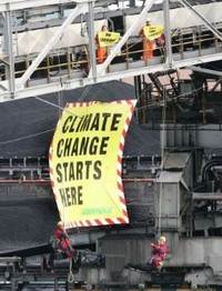 Brindisi - Greenpeace contro Enel