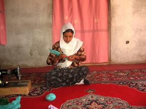 Liloma, beneficiaria progetto Jamila di Fondazione Pangea Onlus