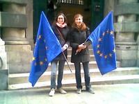 UE:  Trattato di Lisbona: i giovani contro abolizione simboli europei e per il rilancio della Costituzione europea