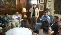 """Deputati dell'autodenominato """"Bloque contra la Dictadura"""" (© Foto G. Trucchi)"""