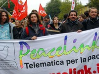 PeaceLink al Social Forum Europeo di Firenze