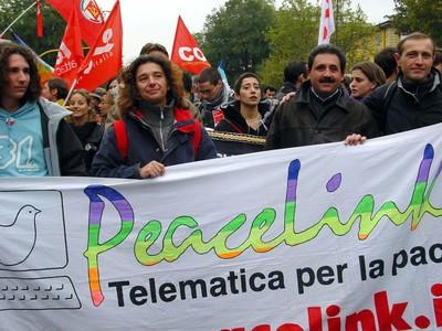 PeaceLink al Social Forum Europeo di Firenze