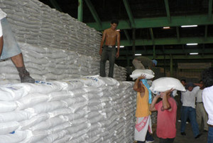 Alimento per gli alunni e le alunne del Nicaragua (© Foto G. Trucchi)