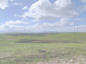 Foto tratta dalla relazione di Sopralluogo effettuato in data 3 e 4 febbraio 2007 in aree comprese nei comuni di Vallata, Vallesaccarda, Bisaccia, Lacedonia (Avellino, Campania) al fine di individuare aree idonee per lo stoccaggio dei rifiuti