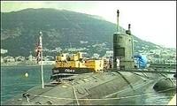 Il sottomarino Tireless