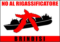 No al Rigassificatore a Brindisi