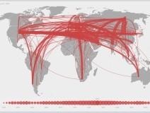 Mappa commercio di armi