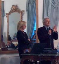 Il Giudice Franco Sebastio e il Giudice Antonella Montanaro