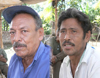 Juan Cabrera e Mariano Duarte: deceduti (© Foto G. Trucchi)