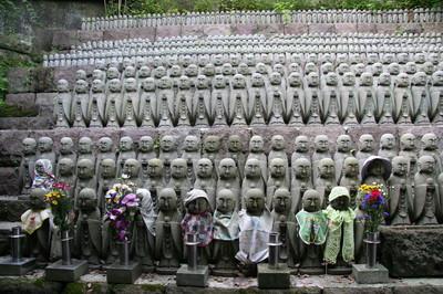 Il tempio di Jizo, sito in Kamakura (Giappone)