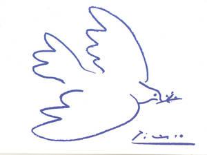 La colomba della Pace di Pablo Picasso