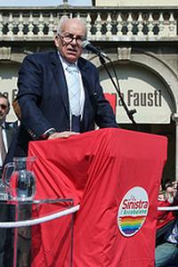 Questionario ai candidati premier sull'Europa: le risposte di Fausto Bertinotti