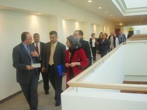 La delegazione irachena visita il Meyer