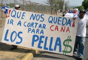 Manifestazione contro il CAFTA del 2005 (Archvio - © Foto G. Trucchi)