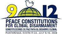 CONFERENZA SULL'ARTICOLO 9 E L'ARTICOLO 12  COSTITUZIONI di PACE per il DISARMO GLOBALE  Puntarenas, Costa Rica,  9-10 Luglio 2009