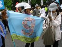la bandiera della Peace Walk