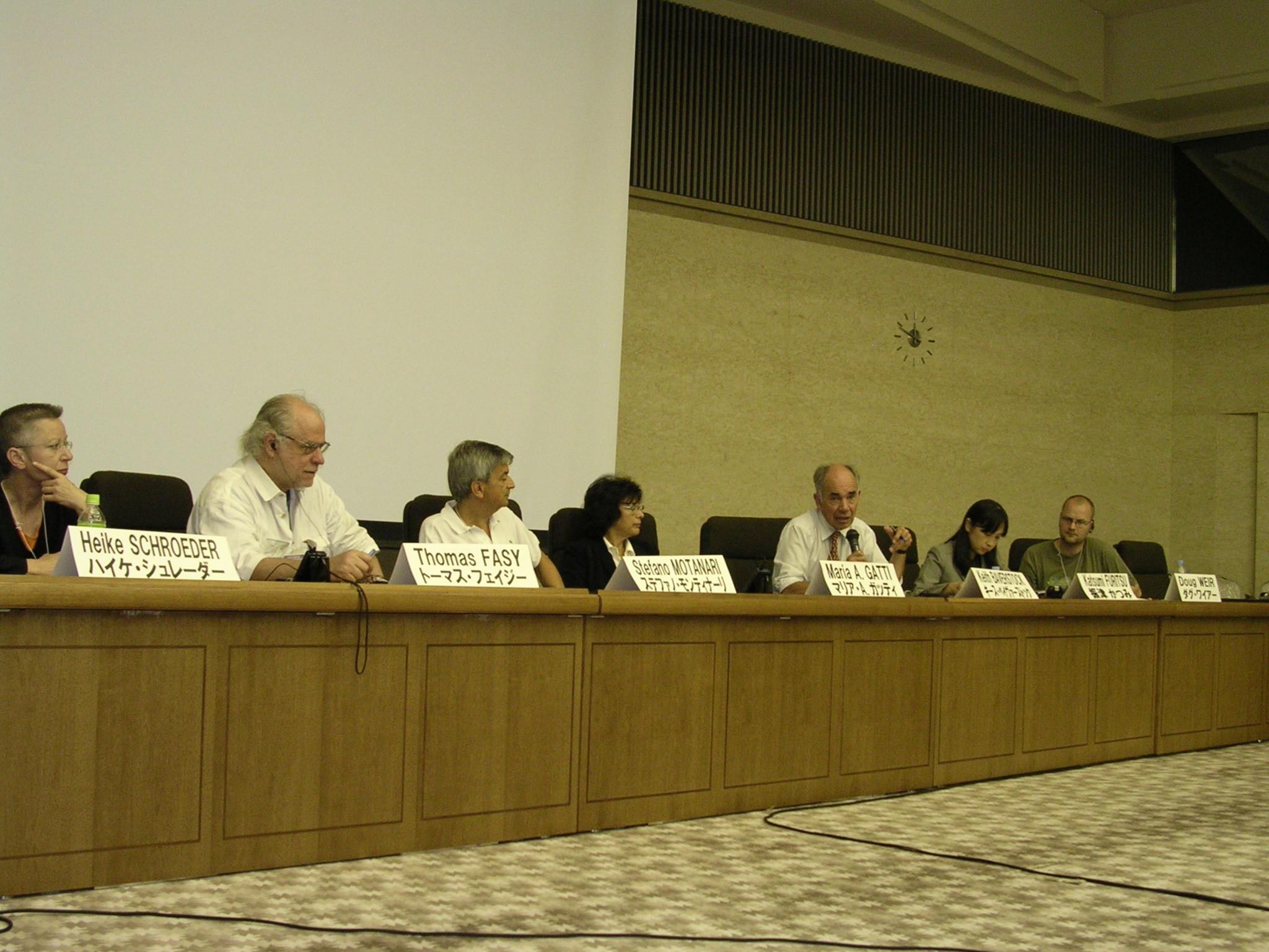 la sessione scientifica dell'assemblea plenaria