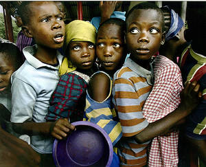 Bambini e fame