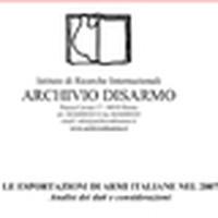Esportazione di armi italiane nel 2007