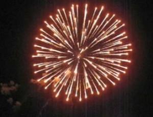 Fuochi d'artificio a San Ferdinando di Puglia (Fg).