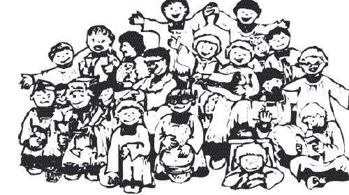 Bambini all'asilo